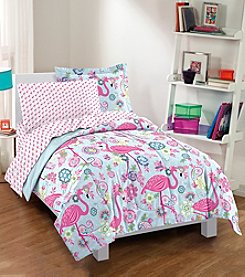 Dream Factory® Flamingo Comforter Set