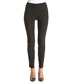 Relativity® Skinny Patterned Pants
