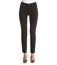 Earl Jean® Skinny Fleur De Lis Jeans With Bling Pockets
