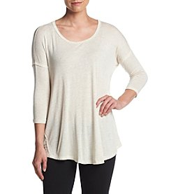 Bobeau® Mid Sleeve Swing Top