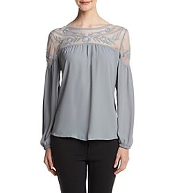 Adiva Lace Yoke Top