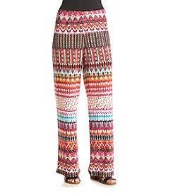 Melissa Paige Colorlicious Stripe Palazzo Pants