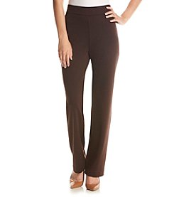 Studio Works® Petites' Regular Length Ponte Pants