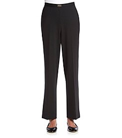 Alfred Dunner® Madison Park Solid Color Pants