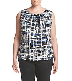 Calvin Klein Plus Size Etched Print Cami