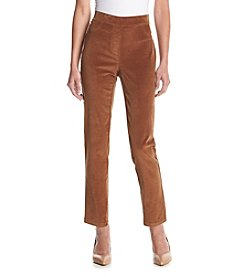 Rafaella® Petites' Stretch Corduroy Pants