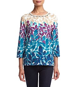 Alfred Dunner® Printed Knit Top