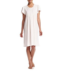 Miss Elaine® Embroidered Nightgown