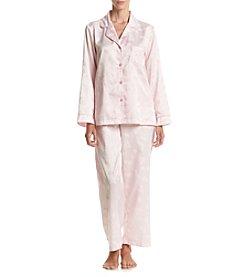 Miss Elaine® Satin Pajama Set