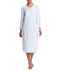 Miss Elaine® Waffle Knit Nightgown