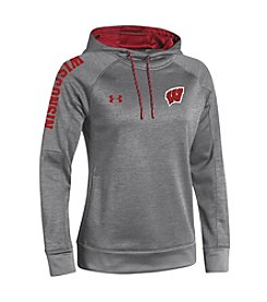 Under Armour® NCAA® Wisconsin Badgers Women's Momentum Fleece Hoodie