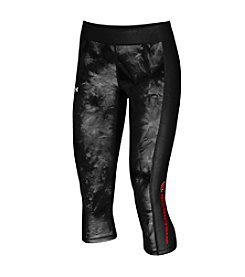 Under Armour® NCAA® Wisconsin Badgers Women's Fusion Crop Leggings