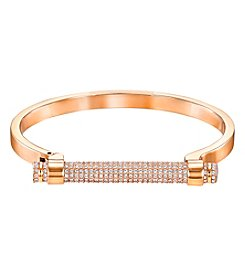 Swarovski® Rose Goldtone Friend Bangle Bracelet
