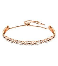 Swarovski® Rose Goldtone Subtle Bracelet