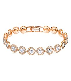 Swarovski® Rose Goldtone Angelic Bracelet