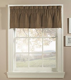 CHF Basketweave Triple Tuck Pleated Valance