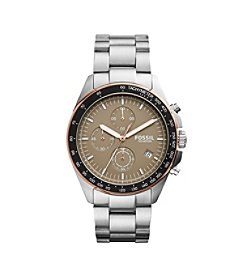 Fossil® Men's Sport 54 Silvertone Watch