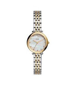 Fossil® Women's Jacqueline Mini Two Tone Watch