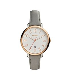 Fossil® Women's Jacqueline Rose Goldtone Watch
