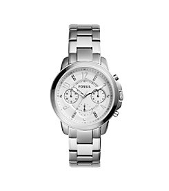 Fossil® Women's Gwynn Silvertone Watch