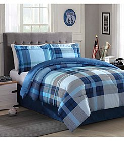 LivingQuarters Brennan 4-pc. Comforter Set
