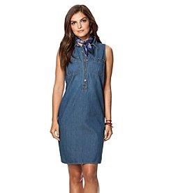 Chaps® Denim Casual Dress