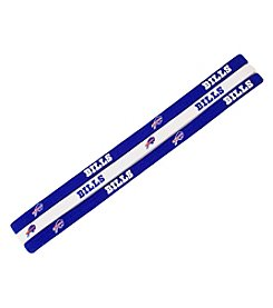 Little Earth NFL® Buffalo Bills Three-Pack Elastic Headbands