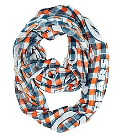 Little Earth NFL® Bears Plaid Infinity Scarf