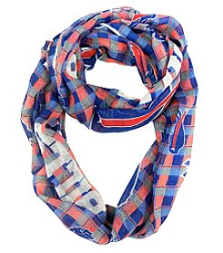 Little Earth NFL® Buffalo Bills Plaid Infinity Scarf