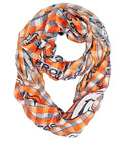 Little Earth NFL® Broncos Plaid Infinity Scarf