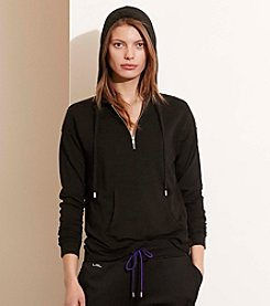 Lauren Active® French Terry Half-Zip Hoodie