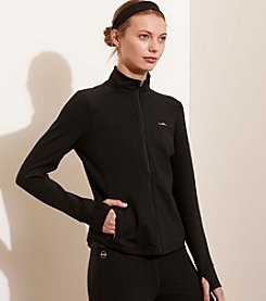 Lauren Active® Jersey Full-Zip Jacket