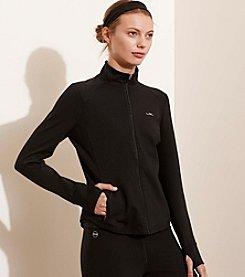 Lauren Active® Jersey Full-Zip Jacket