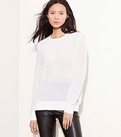 Lauren Active® Open-Knit Sweater