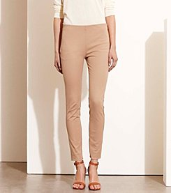 Lauren Ralph Lauren® Stretch Cotton Skinny Pants