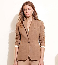 Lauren Ralph Lauren® Wool-Silk Tweed Blazer