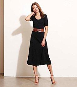 Lauren Ralph Lauren® Waffle-Knit Midi Dress