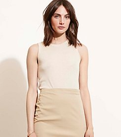 Lauren Ralph Lauren® Silk-Blend Sleeveless Sweater