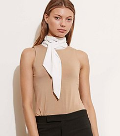 Lauren Ralph Lauren® Contrast-Neckline Jersey Top