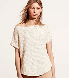 Lauren Ralph Lauren® Short-Sleeve Boatneck Sweater