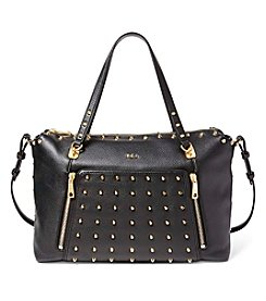 Lauren Ralph Lauren® Arley Ally Studded Leather Satchel