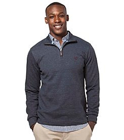 Chaps® Men's Big & Tall Long Sleeve Quarter Zip Pullover