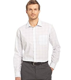 Van Heusen® Men's Big & Tall Chambray Long Sleeve Traveler Button Down Shirt