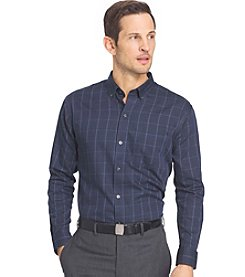 Van Heusen® Men's Big & Tall Long Sleeve Premium Non Iron Button Down Shirt