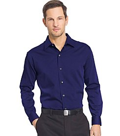 Van Heusen® Men's Big & Tall Long Sleeve Sateen Stripe Button Down Shirt