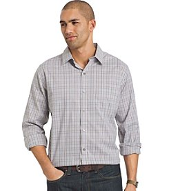Van Heusen® Men's Big & Tall Long Sleeve No-Iron Stretch Button Down Shirt