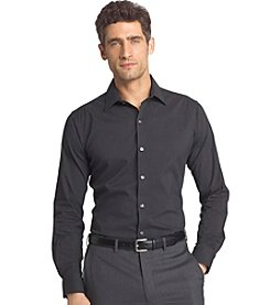 Van Heusen® Men's Big & Tall Long Sleeve Stretch Flex Microstripe Button Woven Shirt