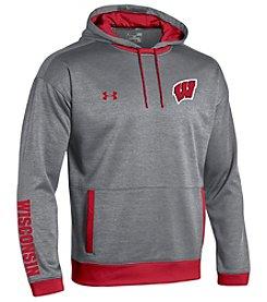Under Armour® NCAA® Wisconsin Badgers Men's Momentum Hoodie