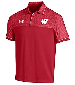 Under Armour® NCAA® Wisconsin Badgers Men's Coaches Podium Polo
