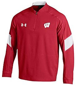 Under Armour® NCAA® Wisconsin Badgers Men's Mastermind Cage Jacket
